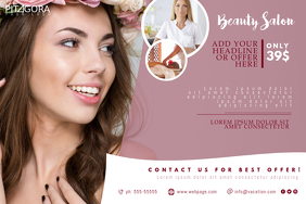 Beauty Salon Spa Flyer Template