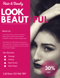 beauty salon template