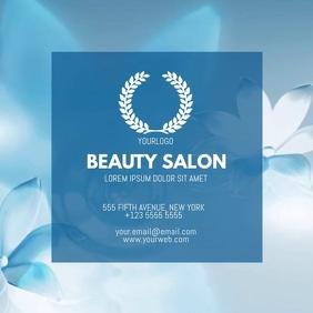 Customizable design templates for makeup artist business card beauty salon video businesscard template for instagram colourmoves