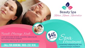 Beauty Spa Facebook Cover Video Template