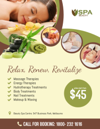 Beauty Spa Flyer Template