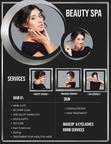 Beauty Spa Webpage Template