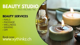 Beauty Studio Wellness Massage Treatement Ad