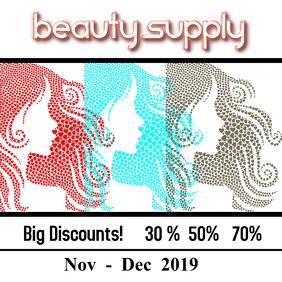 beauty supply/beauty store/retail/discounts