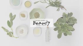 Beauty Youtube Channel Art Template