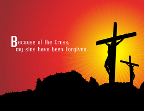 Because of the Cross