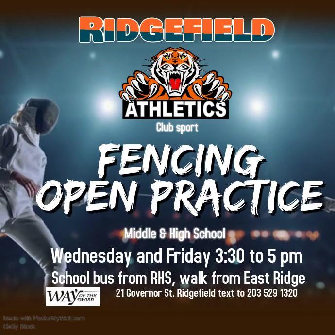 Tigers fencing promo
