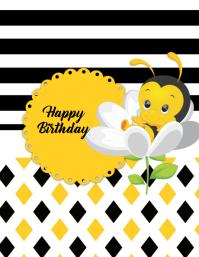 Bee Happy Birthday
