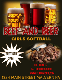 beef and beer fundraiser
