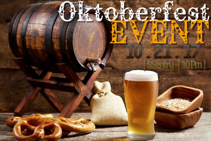 Beer Ale Oktoberfest October Harvest Fall Brew Retail Bar