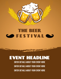 BEER EVENT FLIER TEMPLATE