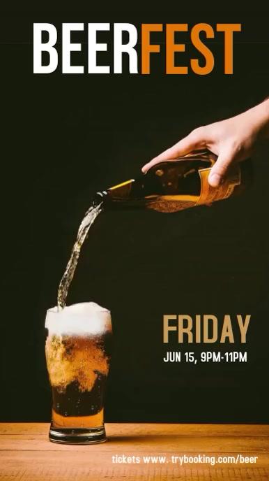 Beer Fest Instagram story