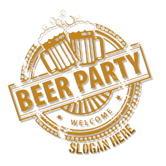 beer logo Ilogo template