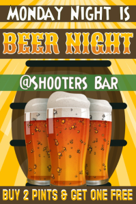 Beer Pub Flyer Template