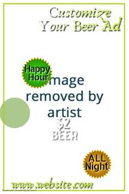 Beer Sale Poster