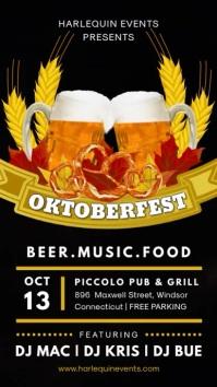 Beerfest Digital Display Video Invitation