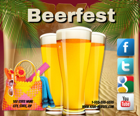 Beerfest Medium Reghoek template