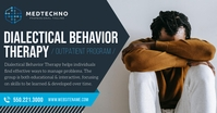 Behavior Therapy Ad Facebook Post template