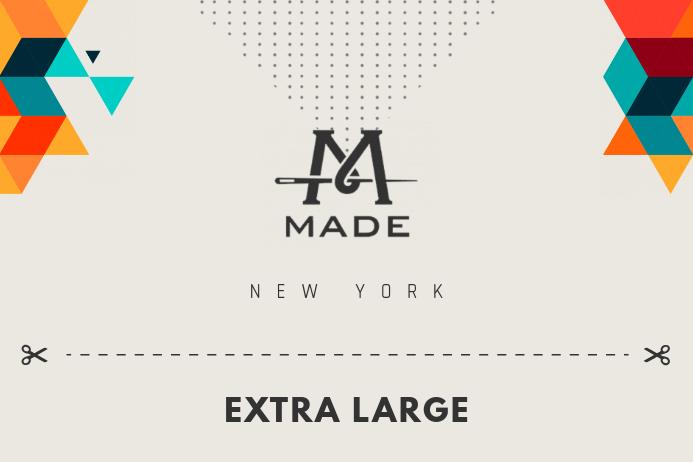 Beige Fashion Retail Label