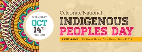 Beige Indigenous Peoples Day Event Facebook C template