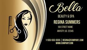 Bella Beauty Salon & Spa Business Card