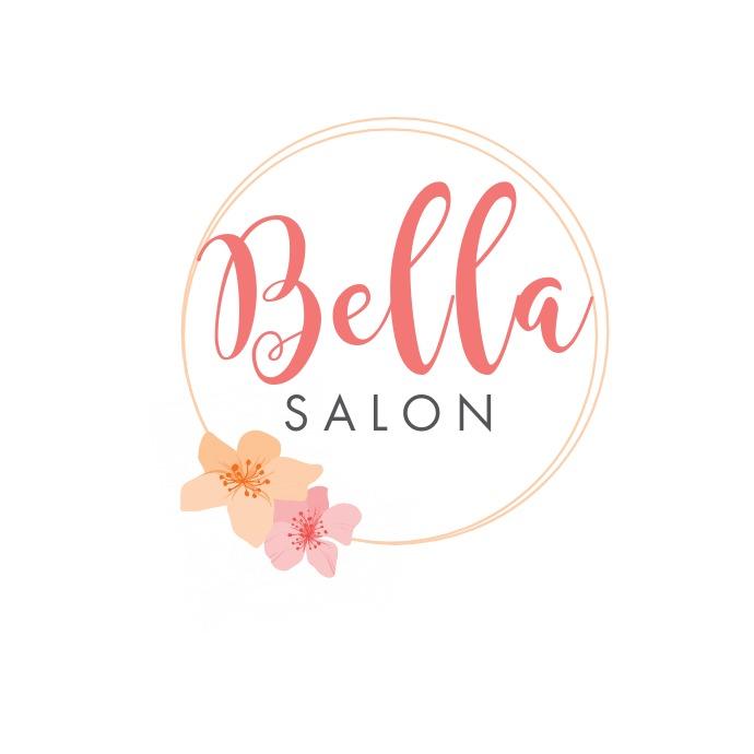 Bella nail salon template Logótipo