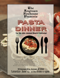 Benefit Pasta Dinner for Clubs and Firehouses