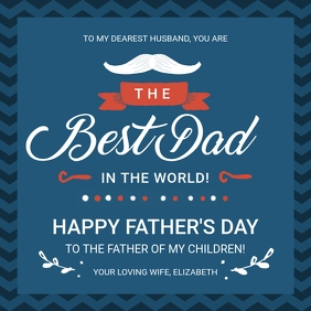 Best Day in the World Father's Day Wish