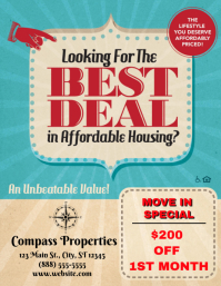 Best Deal Apartment Special