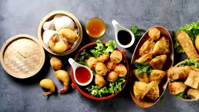 Best Food Samosa Foto di copertina del canale YouTube template