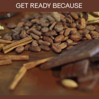 Best Hot Cocoa Ever video slideshow Сообщение Instagram template