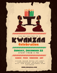 Best Kwanzaa Poster Templates images