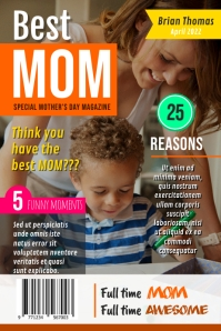 Best Mother Mother's Day Wish Magazine Cover