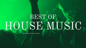 Best of House Music Youtube Thumbnail template