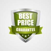 Best Price Guarantee Badge Logo template