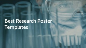 Best Research Poster templates