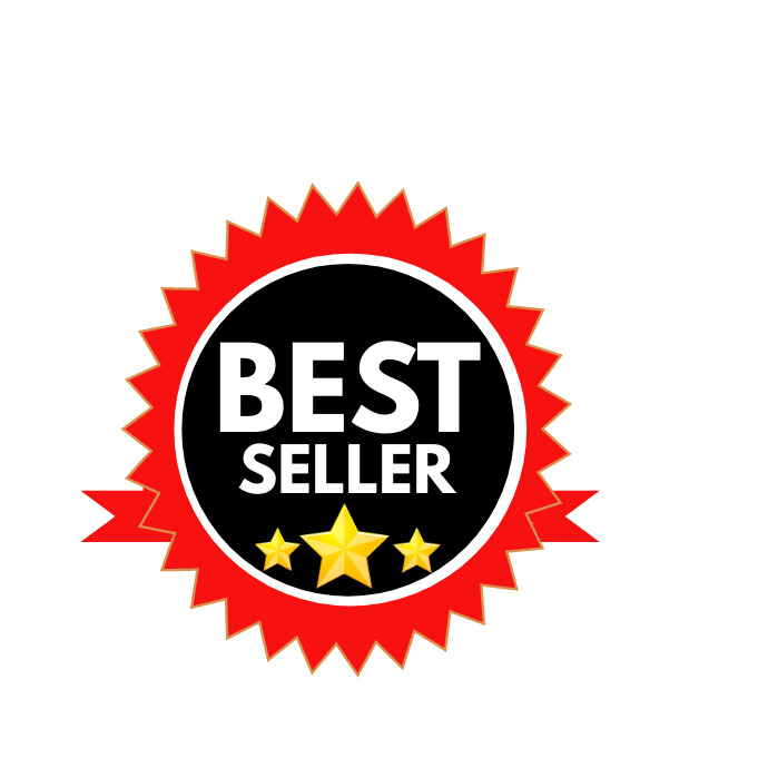 best seller logo transparent template