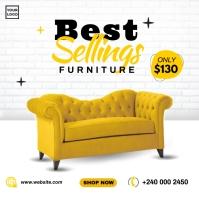 Best Selling Furniture Persegi (1:1) template