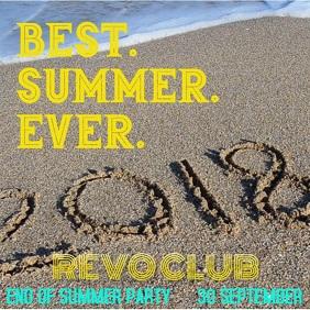 Best Summer Ever Instagram Post