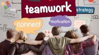 Best Teamwork Foto de Portada de Canal de YouTube template