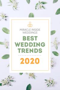 Best Wedding Trends Pinterest Graphic template