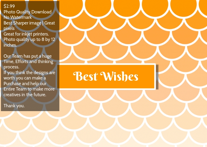 Best wishes postcard greeting cards