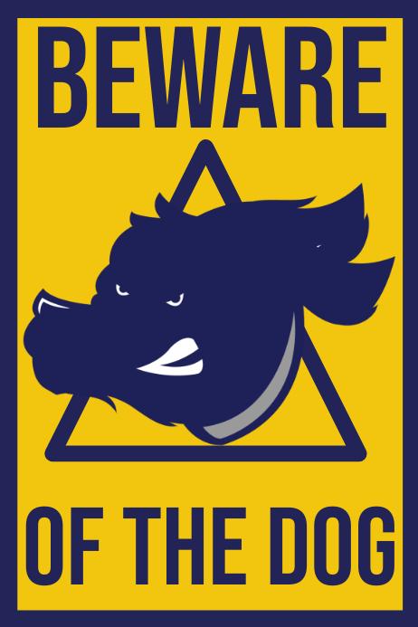 Beware of the Dog Post