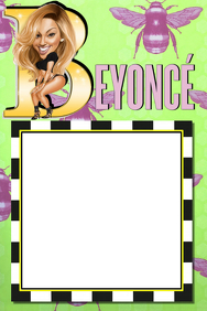 Beyonce Party Prop Frame