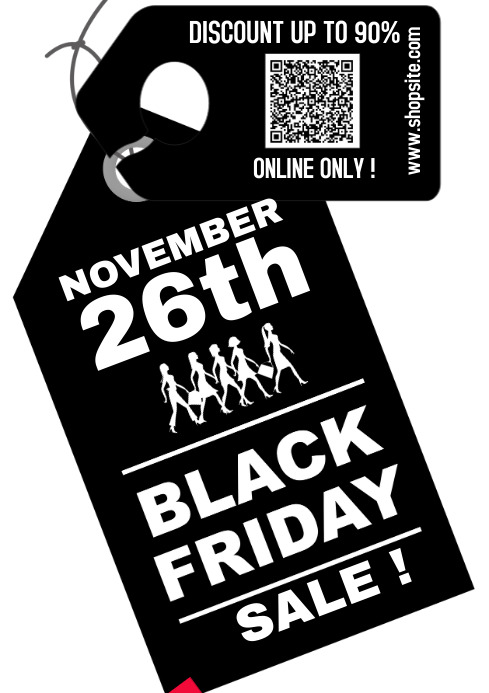 BLACK FRIDAY 2021 Poster A4 template