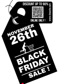 Black Friday 2020 A4 POSTER 2 template