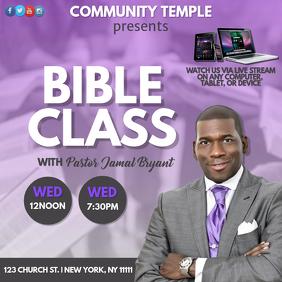Bible Class Promo