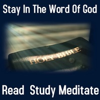 Bible Publicación de Instagram template