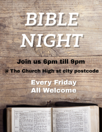 BIBLE NIGHT