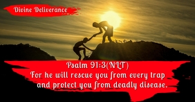 Bible Quote Facebook Shared Image Template